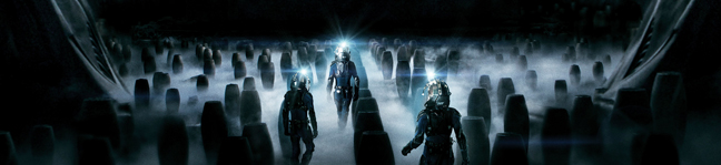 Prometheus, directed by Ridley Scott