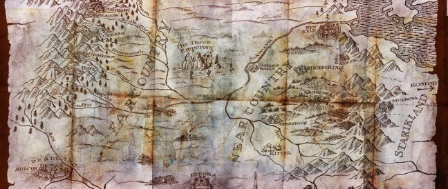 A Map for Red Country by Joe Abercrombie