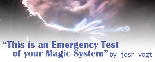 """This is an Emergency Test of Your Magic System"" by Josh Vogt - An image from MISTBORN: BIRTHRIGHT"