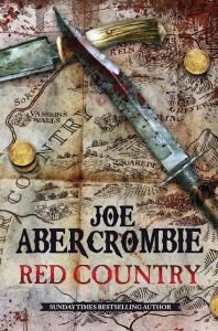 Cover Art for Red Country by Joe Abercrombie (UK)
