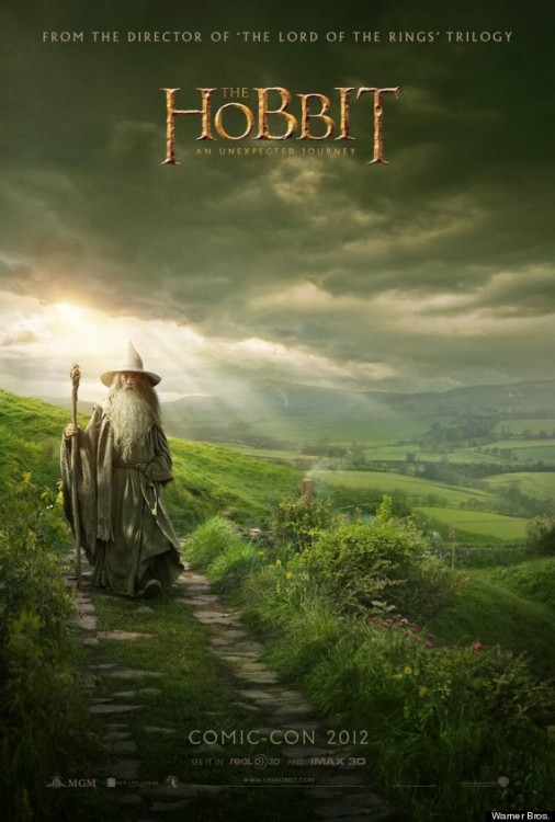 The Hobbit, Comic-con Poster
