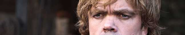 Tyrion Lannister, from Game of Thrones