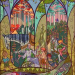 Lord of the Rings Portraits by Jian Guo