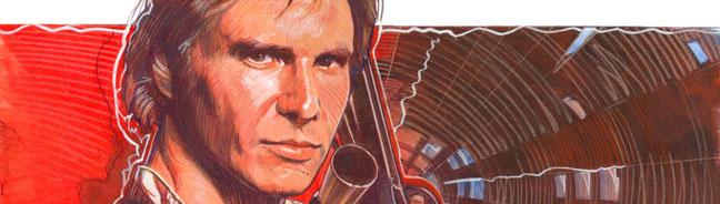 Han Solo, Art by Mark Raats