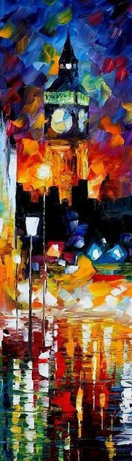 London's Lights by Leonidafremov