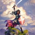 Qavah the Brave by Wes Talbott