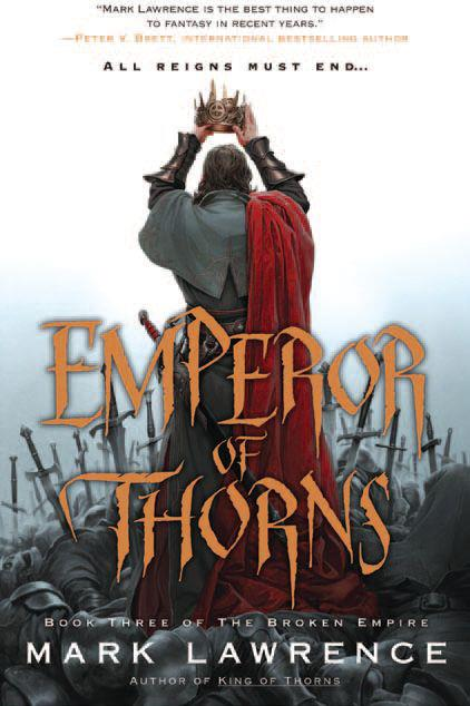 The Emperor of Thorns by Mark Lawrence
