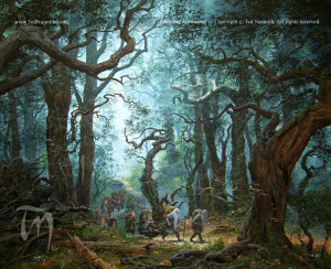 Mirkwood, by Ted Nasmith