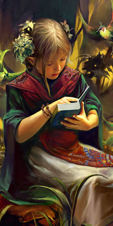 Knowledge and Wisdom, Art by Lorland Chen
