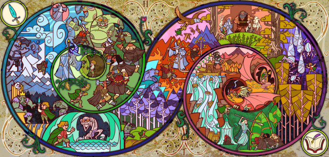 A Long, Long Adventure by Jian Guo