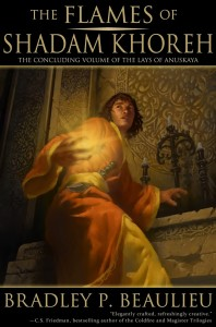 The Flames of Shadam Khoreh by Bradley P. Beaulieu