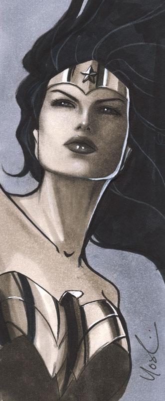 Wonder Woman, art by Protokitty