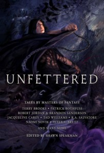 Unfettered, edited by Shawn Speakman