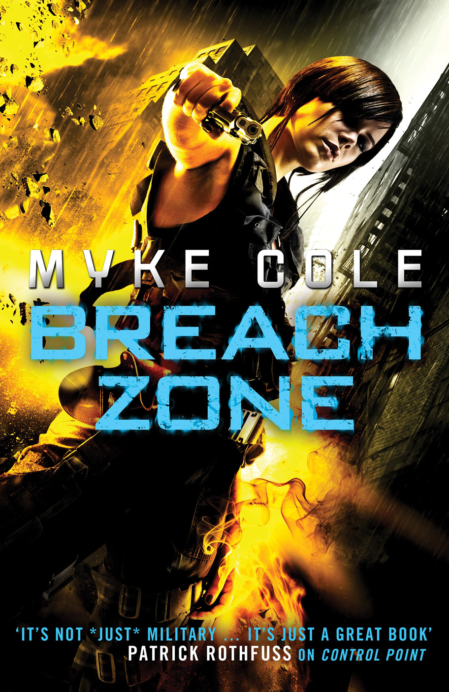 Breach Zone by Myke Cole