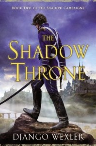 Cover Art for The Shadow Throne by Django Wexler