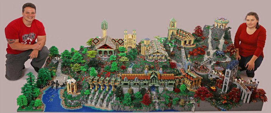 LEGO Rivendell