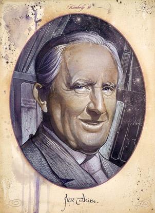 J.R.R. Tolkien by EstudandoAteh