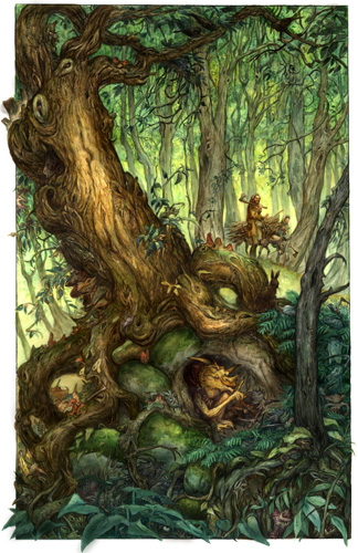 Gobline Tree by David Wenzel