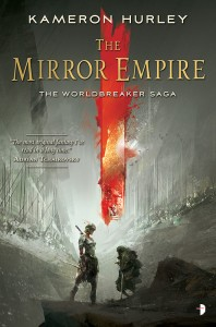 Cover art for The Mirror Empire by Kameron Hurley