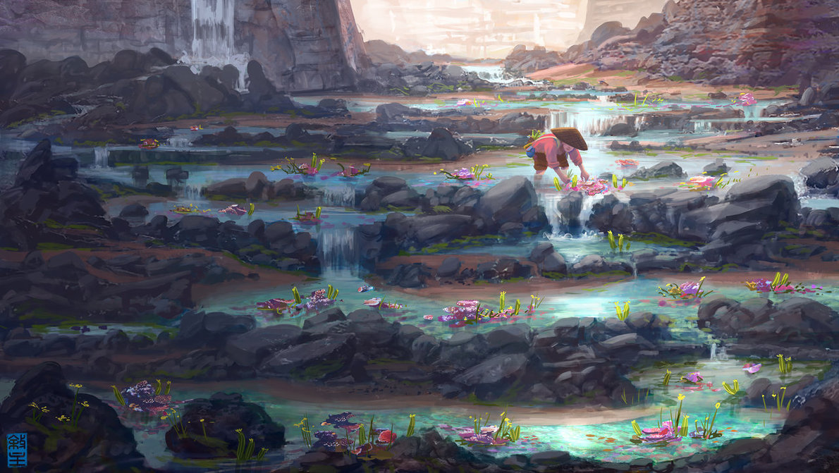 water_garden_by_joshhutchinson-d82pjdx